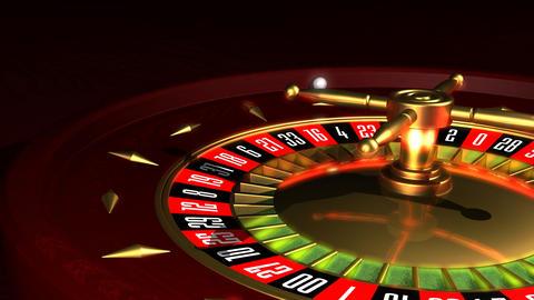 rRoulette Wheel Stock Video Footage