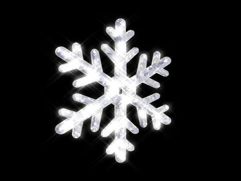 Snowflake Stock Video Footage