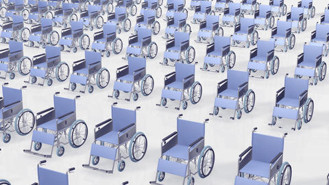 Wheelchair Much2 B Stock Video Footage