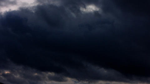 Clouds Timelapse 3 Stock Video Footage