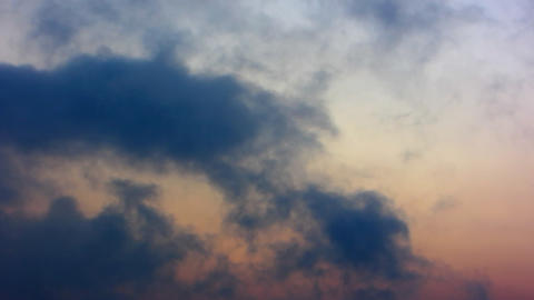 Clouds Timelapse 14 Stock Video Footage