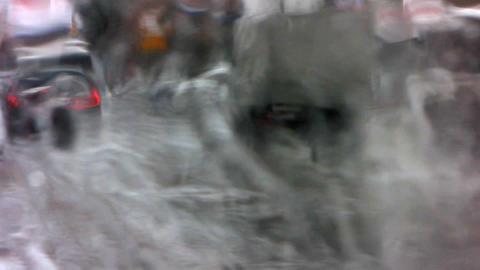 Snowfall 4 Stock Video Footage
