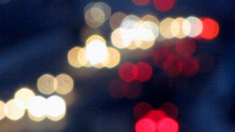 Car lights 1 Footage
