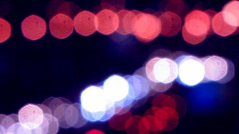 Car lights 6 Stock Video Footage