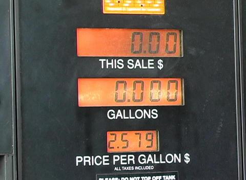 Gasoline Pump (1) Stock Video Footage