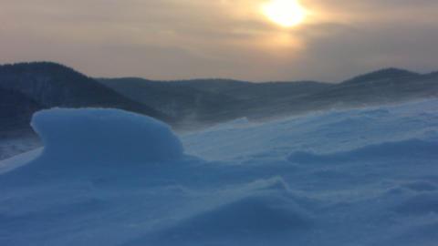 Snow storm 5 Footage