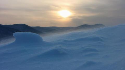 Snow storm 7 Footage