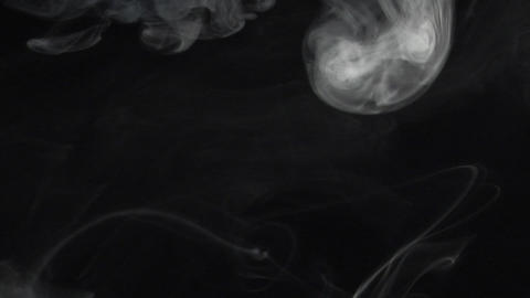 smoke series: Alien is comming Stock Video Footage