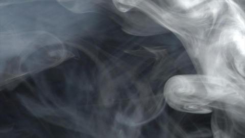 smoke series: big Blast bicolour 2of2 Stock Video Footage