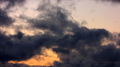 Clouds Timelapse 2 Stock Video Footage