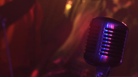 Microphone 3 Stock Video Footage