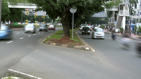 asia highway traffic Stock Video Footage