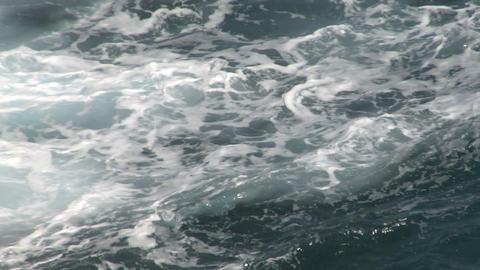 sea wave foam 102 Stock Video Footage