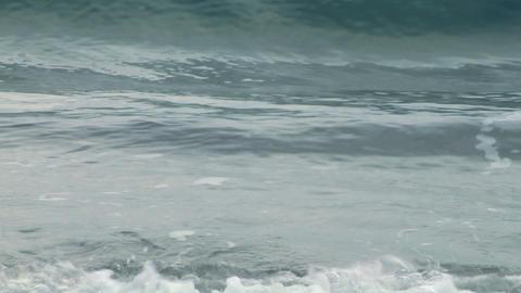 sea wave foam 202 Stock Video Footage