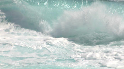 sea wave foam 209 Footage