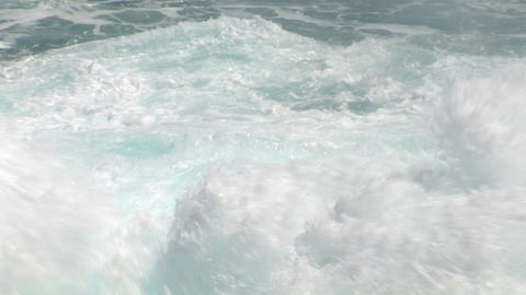 sea wave foam 209 Stock Video Footage