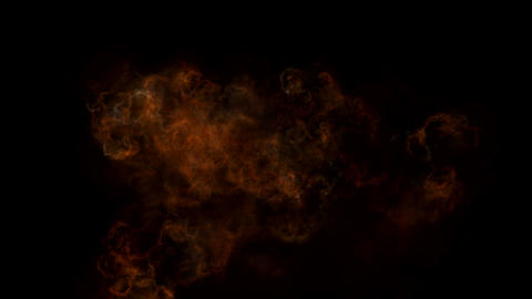 fire and smoke Animation