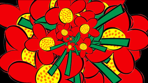 flowers tree Stock Video Footage