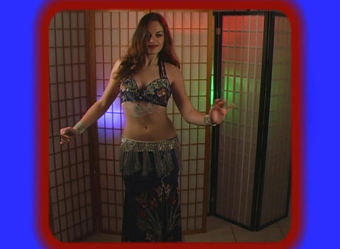 Beautiful Exotic Belly Dancer (7) Stock Video Footage