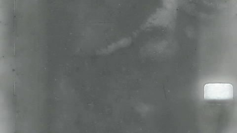 Black and white vintage film reel Animation