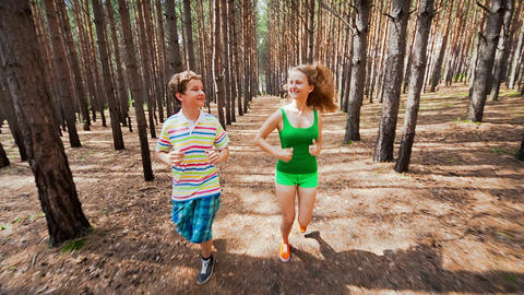 Young people to adopt healthy lifestyles Footage