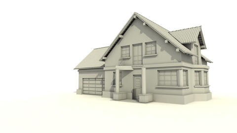 Home construction Stock Video Footage