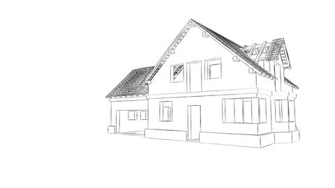 Home construction Animation