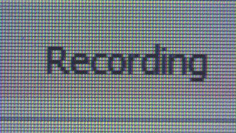 Sound Record Footage
