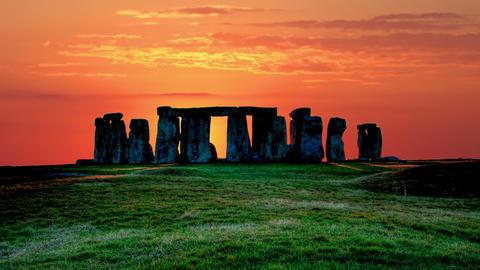 Stonehenge 4K Footage