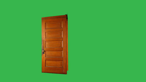 Side Door, Open & Close: Green Screen Animation