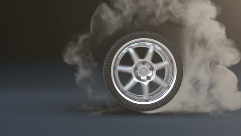 Burnout stock footage