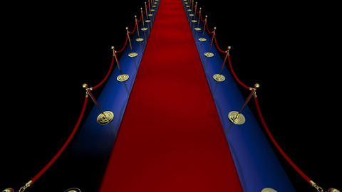 Loopable Red Carpet Event Stock Video Footage
