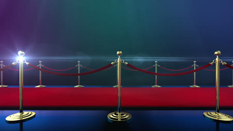 Loopable Red Carpet Event stock footage