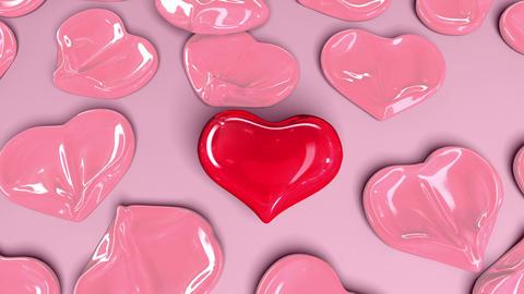 Balloon Herat, the most important love Animation