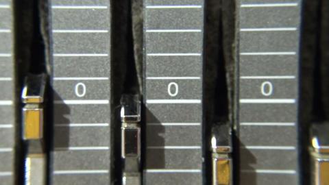 The equalizer. Pens, Adjustment Footage