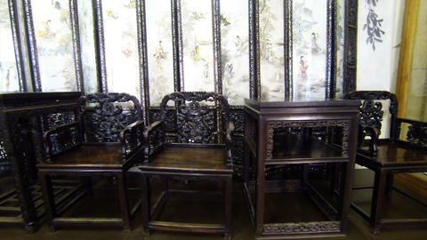 Antique furniture Footage