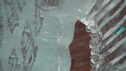 Ice sculpture Footage