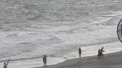 High tide Footage