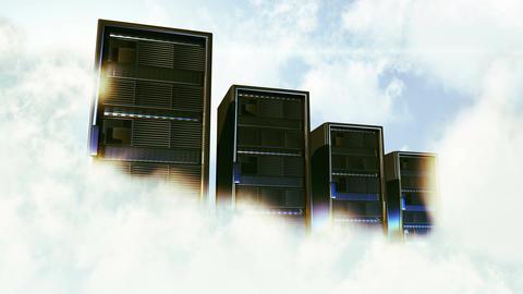 4K Cloud Server 2 Animation
