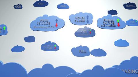 4 K Cloud Servers 10 Animation