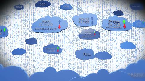 4 K Cloud Servers 12 Animation
