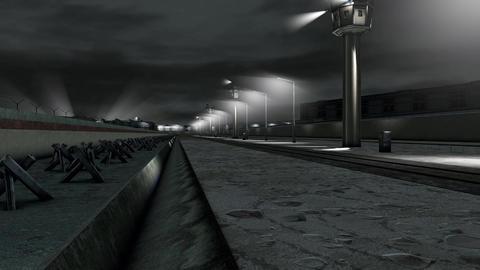 Berlin Wall 1 h 264 Animation