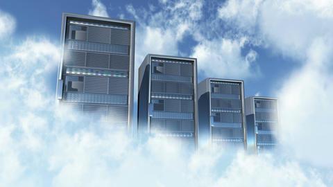 Cloud Server 1 Animation