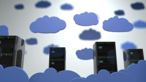 Cloud Servers 13 DOF h 264 Animation