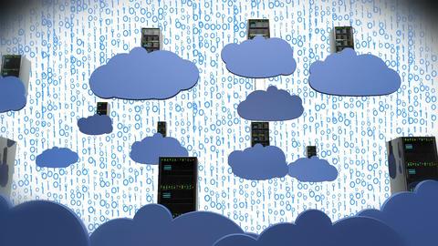 Cloud Servers 16 Animation