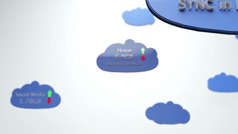 Cloud Servers 23 DOF Animation