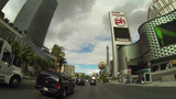 LAS VEGAS - CIRCA 2014: Driving down the Las Vegas Footage