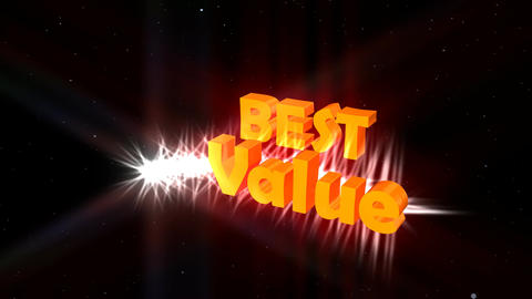 """Best Value"" Animated Ad Promotion Animation"
