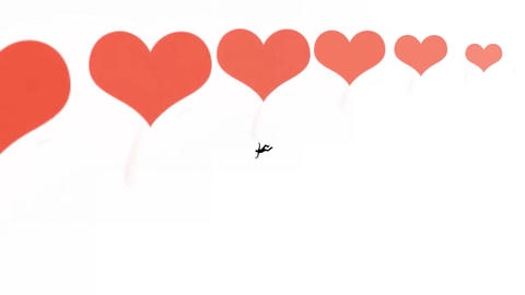 Falling Silhouette, Man in Love Animation