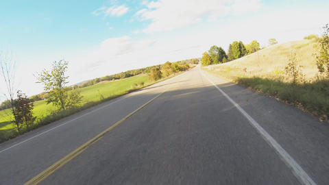 Motorcyclist POV in Fall: Version #3 Animation